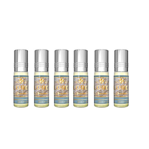 Lord Perfume Oil - 6 x 6ml by Al Rehab from Al Rehab