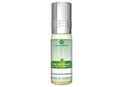 Musk-Al-Madina Halal Alcohol Free 6 ML Best Selling Attar Perfume Oil - Top Quality Fragrance Prime from Al Rehab
