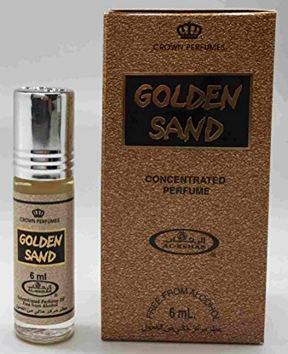 Musk Perfume Al Rehab Golden Sand 6ml 100% Oil from Business Square