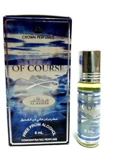 OF COURSE 6ml Best Selling Al Rehab Perfume Oil - Top Quality Fragrance from Al Rehab