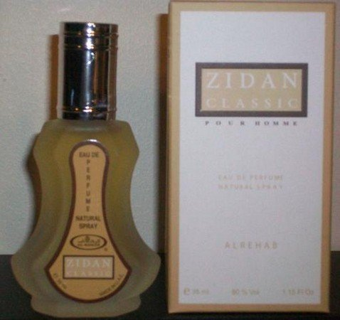 Zidan Classic EDP Perfume Spray by Al- Rehab - 35ml from Al Rehab