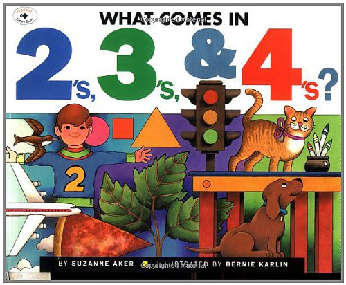 What Comes in 2's, 3's & 4's? from Aladdin Paperbacks