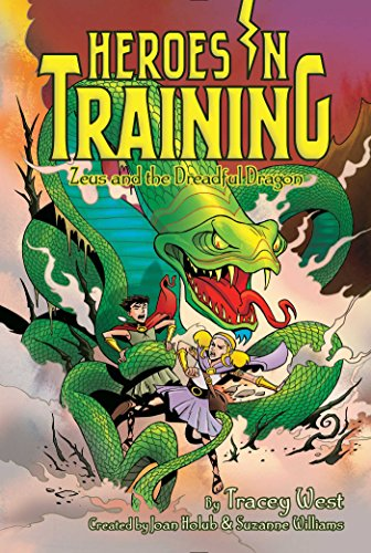 Zeus and the Dreadful Dragon, Volume 15 (Heroes in Training) from Aladdin Paperbacks