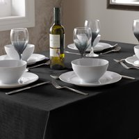 Select Table Cloth Black from Alan Symonds