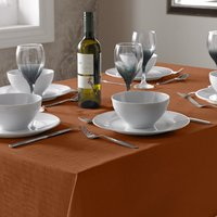 Select Table Cloth Burnt Orange from Alan Symonds