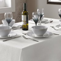Select Table Cloth White from Alan Symonds