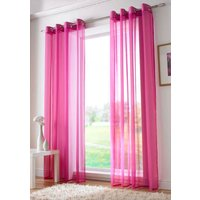 Plain Ring Top Voile Cerise from Alan Symonds