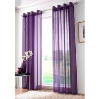 Plain Ring Top Voile Purple from Alan Symonds
