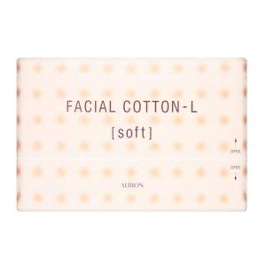 Albion Facial Cotton-L (Soft) 120 Sheets from Albion