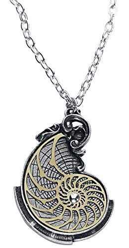 Alchemy Empire: Steampunk Fibonacci's Golden Spiral Pendant from Alchemy