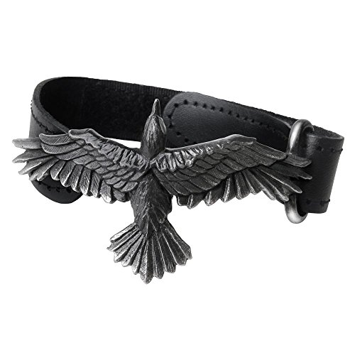 Alchemy Gothic Black Consort Bracelet from Alchemy Gothic