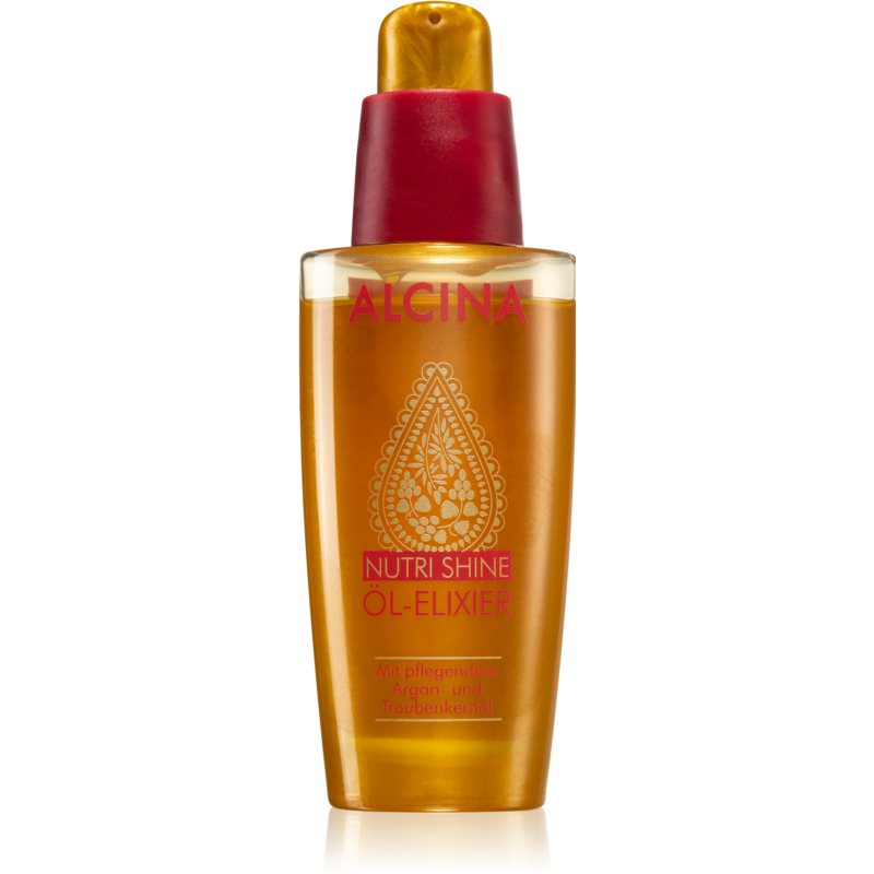 Alcina Nutri Shine Oil Elixir for Smooth and Glossy Hair 50 ml from Alcina
