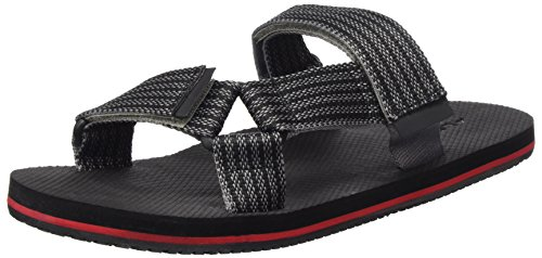 de973253f2d22 Aldo Men s Aawiel Open Back Slippers Jet Black 1 Stripe 10 UK from Aldo