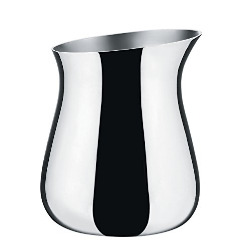"Alessi"" Cha Creamer in 18/10 Stainless Steel Mirror Polished, Acier Billant from Alessi"