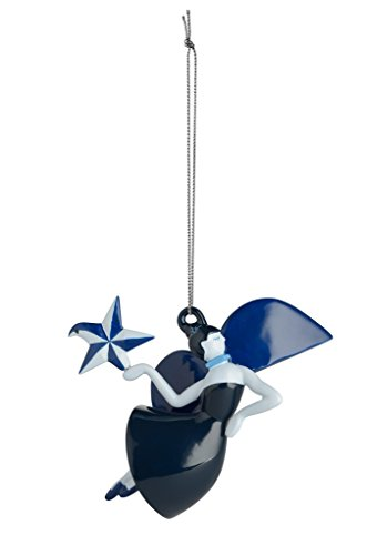 Alessi Christmas Ornament, Blue, 10.9 x 5.7 x 8.7 cm from Alessi