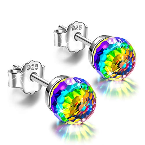 Alex Perry earrings for women sterling silver stud earrings polychromatic crystal earrings gifts for women valentines birthday graduation anniversary gifts for her gifts for mum jewellery for women from Alex Perry
