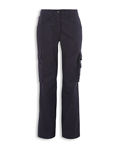Alexandra Tungsten STC-TN108NA-16T Women's Service Trouser, Tall, Plain, 65% Polyester/35% Cotton, Size: 16, Navy from Alexandra Tungsten