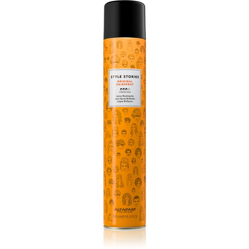 Alfaparf Milano Style Stories Original Hairspray Strong Firming 500 ml from Alfaparf Milano