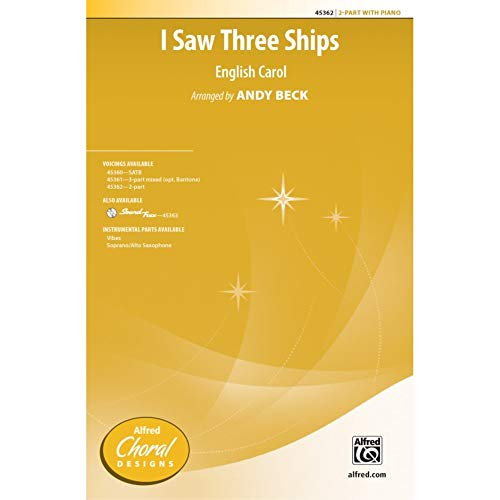 I Saw Three Ships - 2-part Choir - PART from Alfred Music Publications