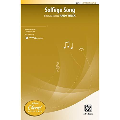 Solfage Song - 2-Part Vocal - PART from Alfred Music Publications