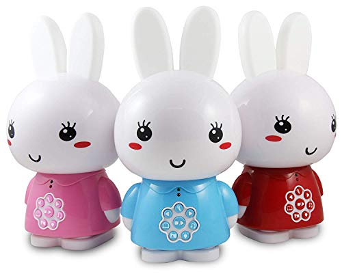 Alilo Honey Bunny Edutainment for your Child (selected songs and stories included) Media Player - Red from Alilo