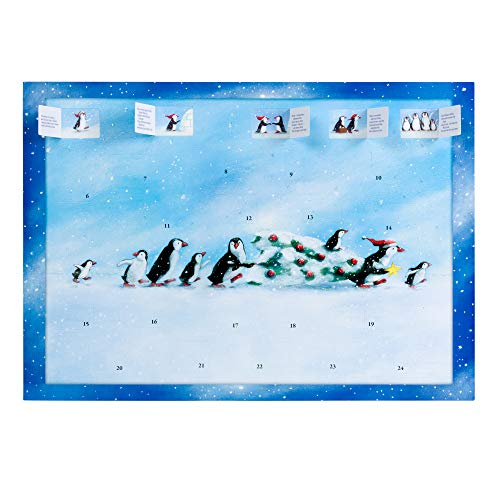 Coppenrath Tradtional Storybook Advent Calendar 'Penguins in the Snow' Story Told Through Words and Pictures from Alison Gardiner