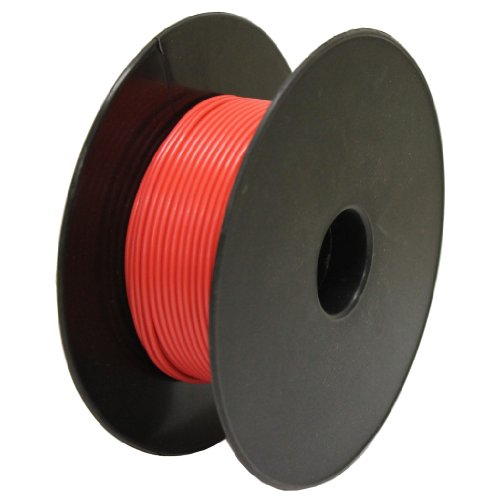 All Trade Direct 10M Length Red Auto Cable 14/0.30 Strand 8.75A Amp 1.0Mm2 Single Core Car Wire from All Trade Direct