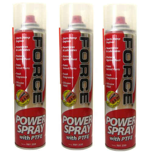All Trade Direct 3 X 400Ml Power Penetrating Oil Aerosol Spray Ptfe Multi Purpose Lubricant Wd40 from All Trade Direct