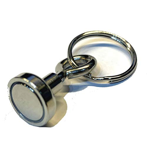 Strong Magnet Bison Geocache Converter or Magnetic Keyring Holder - Neodymium + from AllCachedUp