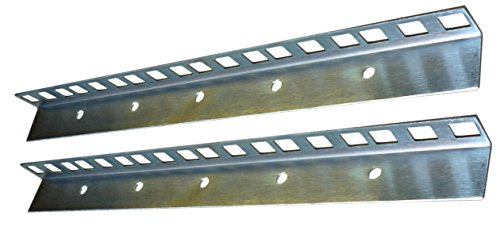 All Metal Parts 6U rack strips Zinc plated 24.2 x 19.2mm sold in pairs from AllMetalParts