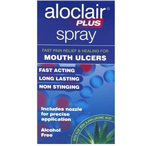THREE PACKS of Aloclair Plus Spray 15ml from Aloclair