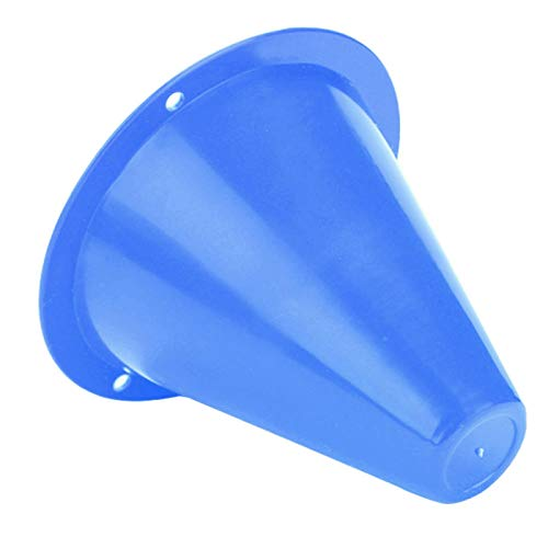 Football Dealglad 20pcs Space Marker Cone Discs Soccer Football Rugby Fitness Training Sports Saucer Green Training & Playing Field Equipment