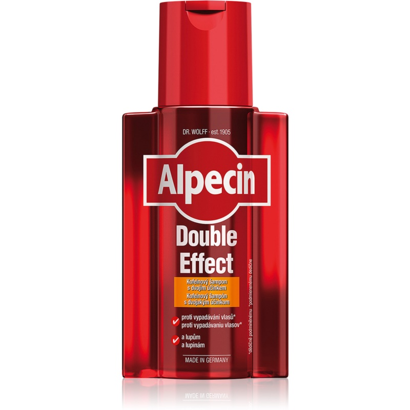 Alpecin Double Effect Caffeine Shampoo For Men Against Hair Loss And Danruff 200 ml from Alpecin