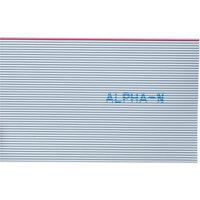 Alpha Wire 3580/10 SL005 Ribbon Cable Grey 10 Way (30.5m Reel) from Alpha Wire