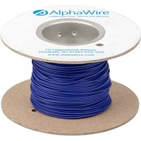Alpha Wire 6712 VI005 Eco Wire 24AWG Violet (30.5m Reel) from Alpha Wire