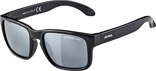 ALPINA Unisex-Youth MITZO Sports Glasses, Black, one Size from Alpina