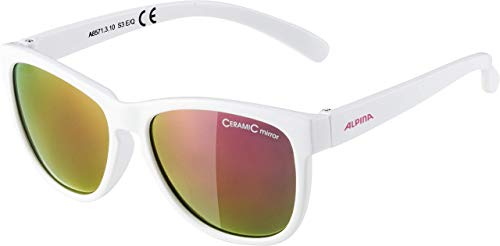 ALPINA Luzy Sunglasses For Outdoor Sports, Unisex, Luzy, White from ALPINA