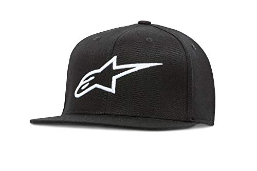 Alpinestars Men Ageless Hat Flat Cap, Black , Small (Manufacturer Size:Small/Medium) from Alpinestars
