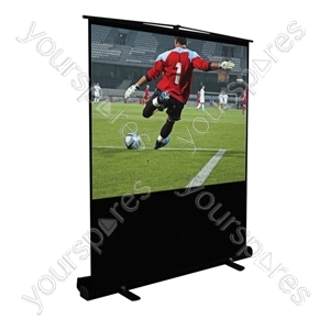 Height Adjustable Portable Projection Screen from Altai