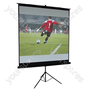 Matt White Height Adjustable Tripod Projection Screen from Altai