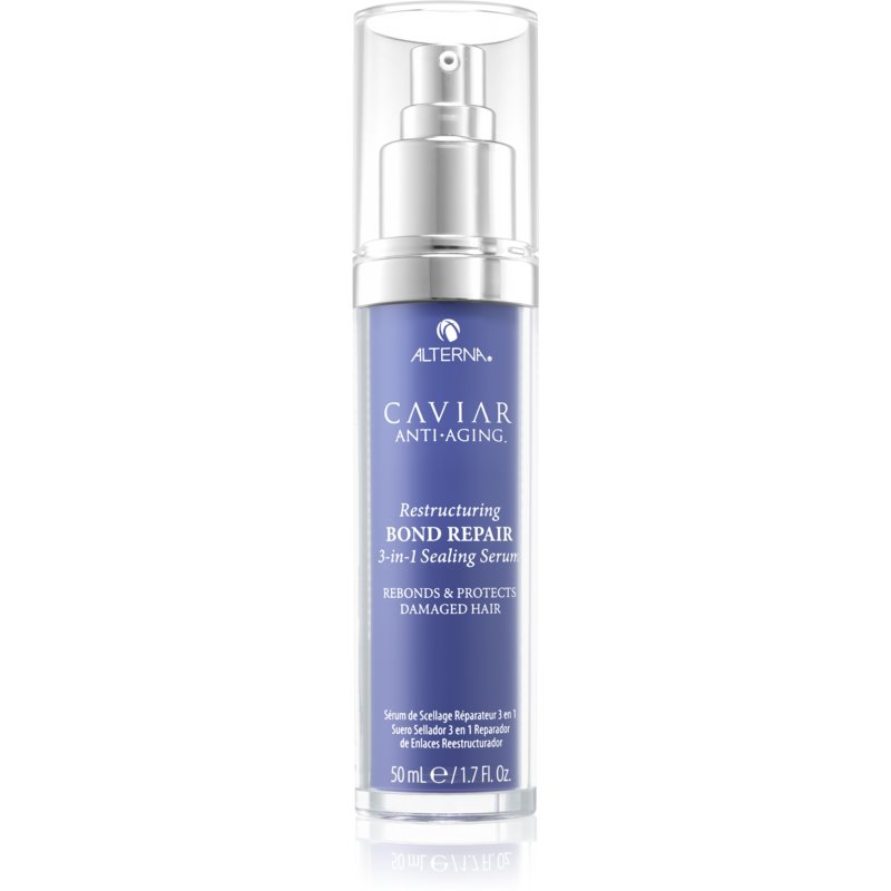 Alterna Caviar Anti-Aging Restructuring Bond Repair Restorative Hair Serum For Damaged And Fragile Hair 50 ml from Alterna
