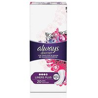 Always Discreet Incontinence Liners Plus 20 from Always Discreet
