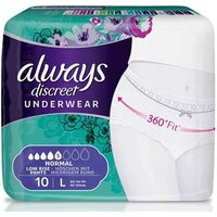 Always Discreet Incontinence Pants Normal Large 10 from Always Discreet