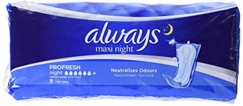 Always Maxi Wings Sanitary Pads from Always