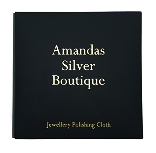 Cleaning and Polishing Cloth for Silver and Gold Jewellery - Large Size 18cm from Amandas Silver Boutique