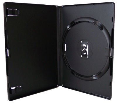 20 x Single Black Amaray DVD Replacement Cases from Amaray