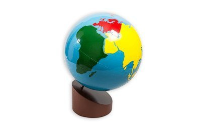 Globe of the Continents from Amazing child Montessori