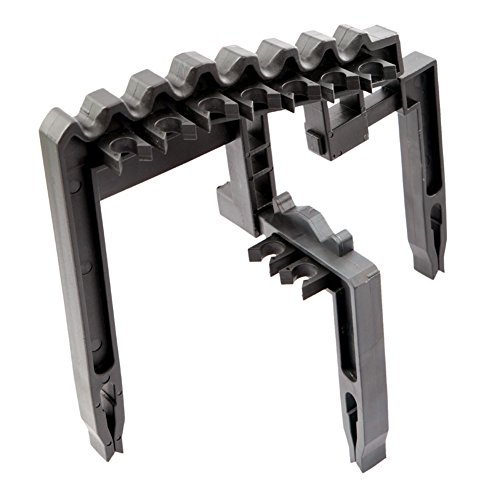 Golf 9 Iron Club ABS Shafts Holder Stacker Fits Any Size of Bags Organizer Black from Amazingdeal365