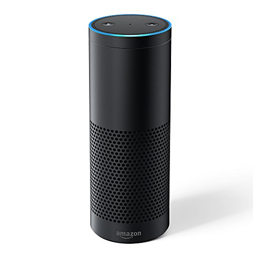 Amazon Echo Plus – With built-in smart home hub, Black - International Version, UK power adaptor from Amazon
