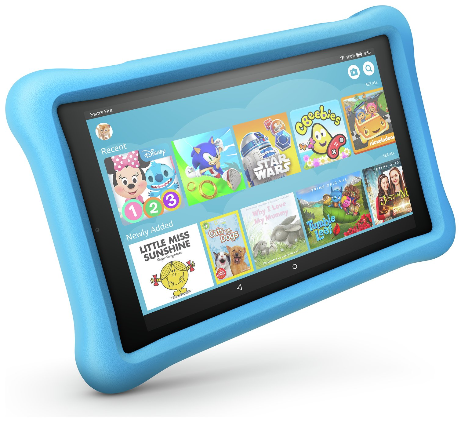 Amazon Fire 8 Kids Edition 8 Inch 32GB Tablet - Blue from Amazon